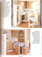 Plastic Canvas Doll House View 5