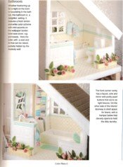 Plastic Canvas Doll House View 7
