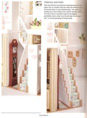 Plastic Canvas Doll House View 8