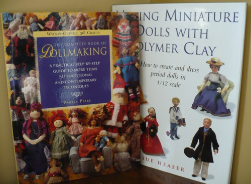 Some Miniature Victorian Doll Books