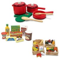 Wooden Kitchen Accessory Set