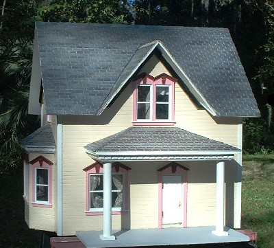 Sample only of 'would-be' barbie dollhouse plans