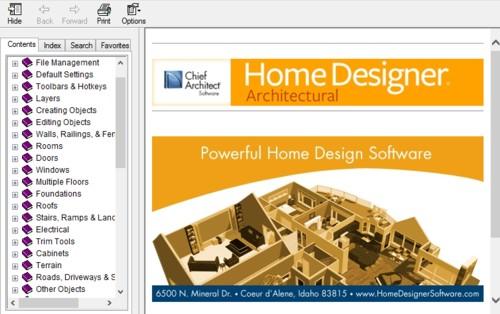 Home Designer Content Help