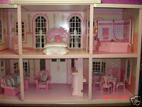 Inside View - Barbie Doll House