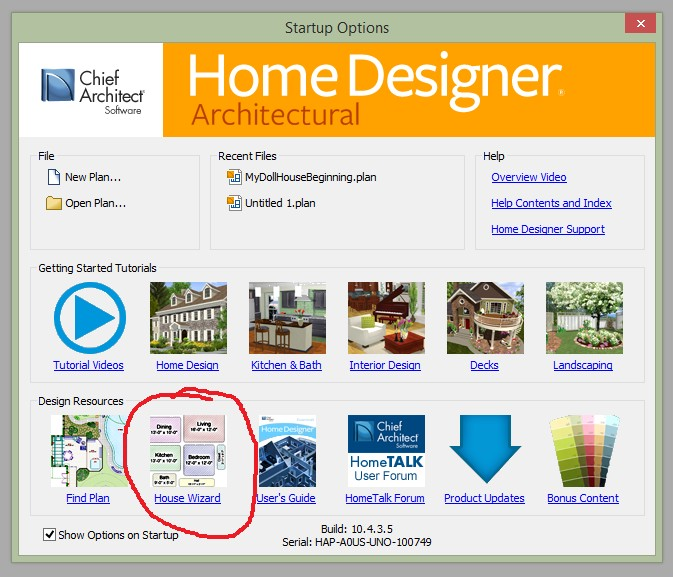 May 2014 5 Simple Steps with your Home Designer Program