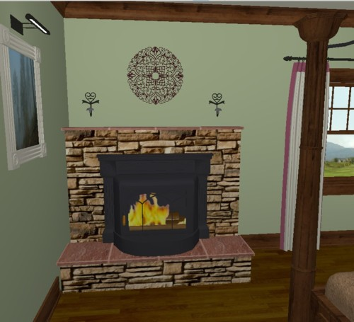 Such a cute fireplace