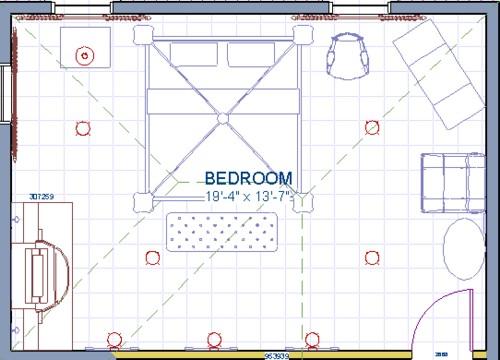 Work away in draft mode or 3D