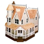 The Laurel Dollhouse Featured With 7 Other Miniature