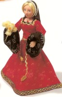 One of Sue's clay dolls.