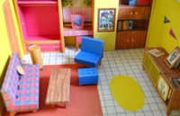Barbie's first dollhouse of 1962 - View 2
