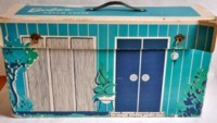 Barbie's first dollhouse of 1962 - View 1