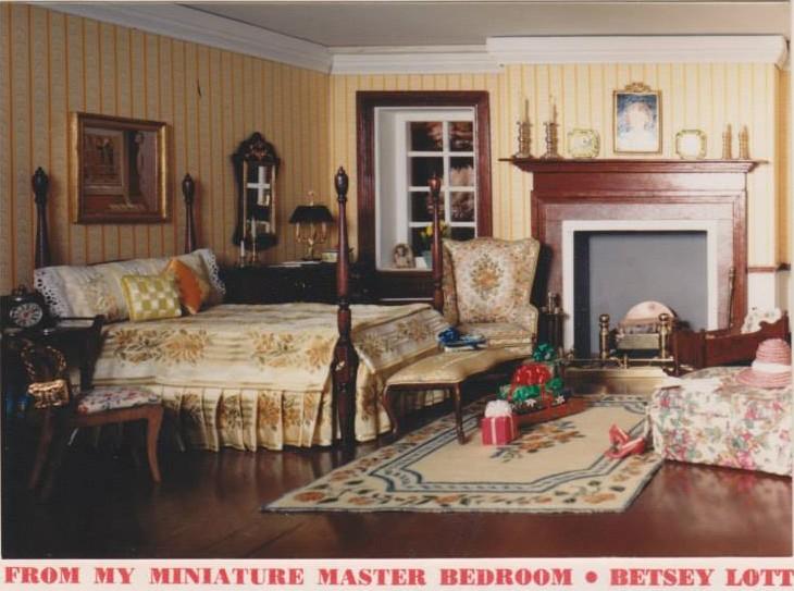 Dollhouse bedroom design