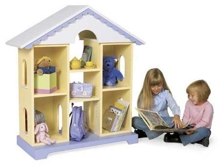 Dollhouse Bookcase Plan