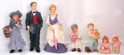 Assorted Dollhouse People