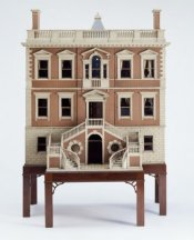 German Dollhouse Front