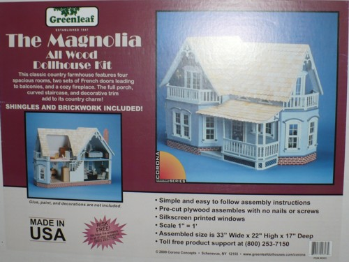 Magnolia Dollhouse Kit 2013