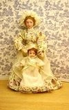 A nanny and baby for your doll house.