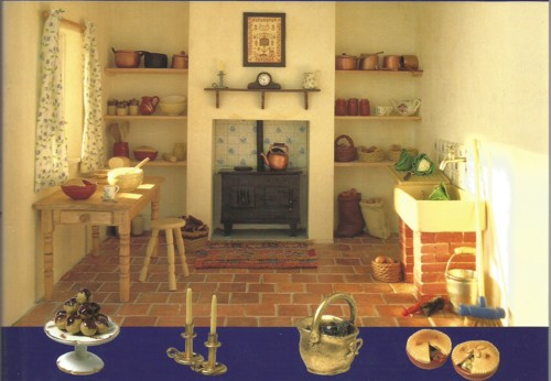 Fireplace from Cover of Sue Heaser Book
