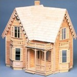 Wooden Dollhouse Kit
