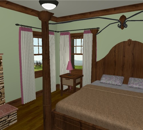 Incorporate a window treatment