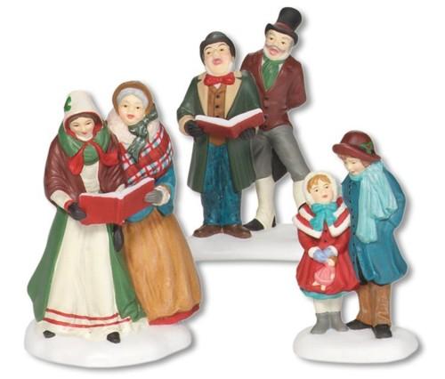 Christmas Village Carolers