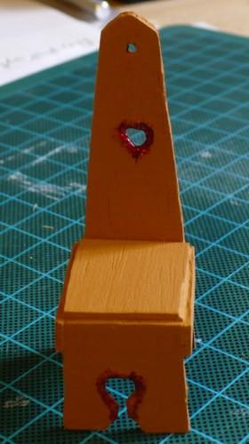 Replica of the decorative seat view 3