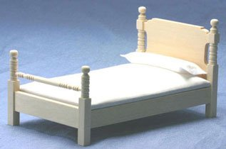 Dollhouse Unfinished Bed