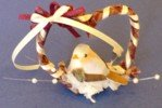 Dollhouse Miniatures Heart Shaped Wreath for Your Favorite Fashion Doll