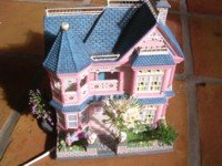 Fashion history of dollhouses would not be complete without a Barbie mansion.