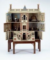 German Dollhouse Back