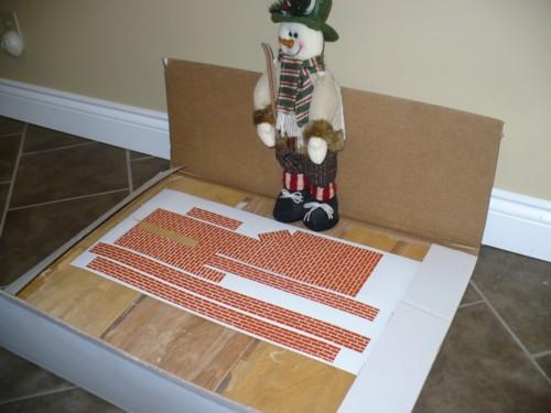 Dollhouse Kit with Snowman Helper