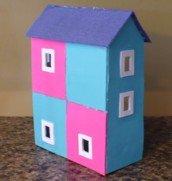 Dollhouse Miniatures Dollhouse