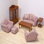 Doll House Living Room. Pick Furnishings to Excite Your Doll House Collector's Spirit